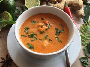 sopa de camarao