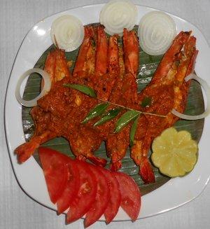 king prawn Masala
